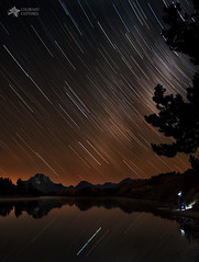 Celestial Patience At The Oxbow Bend (Mike Berenson - Colorado Captures) Tags: nature water landscape jackson workshop wyoming grandtetons tetons allrightsreserved grandtetonnationalpark coloradocaptures mikeberenson copyright2015bymikeberenson