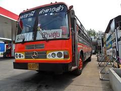 Mercedes (Nam Keng) Tags: old bus car vintage thailand mercedes benz udon outdoor made german vehicle veteran thani