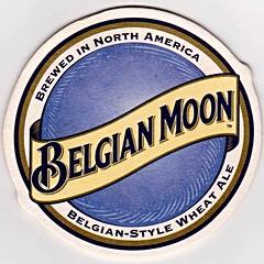 Belgian Moon (Will S.) Tags: blue moon wheat ale american beermat belgian bluemoon beercoasters witbier belgianmoon
