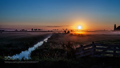 Morning has Broken (fotoflatratech) Tags: travel holland mill windmill dutch zaanse schans surise 500px ifttt fotoflatrate