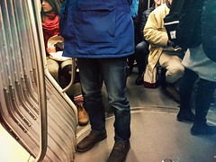 Packed. #ttc #streetcar #spadina #510 #toronto (dzgnboy) Tags: toronto ttc spadina streetcar 510