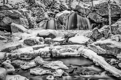 Icy Waters (KAM918) Tags: winter bw snow water ma nikon long exposure snowy massachusetts falls nd icy trap waterfal ashby d610