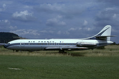 F-BHRY (Air France) (Steelhead 2010) Tags: airfrance caravelle freg sudaviation jetz se210 se2103 fbhry