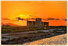 Tramonto alle saline  ... (Schano) Tags: sunset landscape mediterraneo tramonto saline hdr paesaggio trapani picmonkey ilce3000 sonyilce3000 sonyemount55210 sony3000