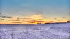 ABC_7164s (savillent) Tags: sky sun snow canada clouds sunrise landscape dawn march nikon northwest earth north arctic climate territories daybreak 2016 tuktoyaktuk savillent d800e