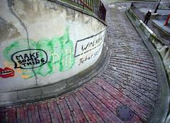 Just do it! (Asia Zadworna) Tags: street wall warsaw justdoit warszawa mokotow mokotw dothings