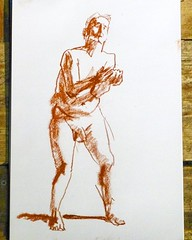 Sunday 6th March 2016, independent life drawing session in Theatre Utopia @matthewsyard  Information and dates http://descart.es/lifedrawing  #art #artgallery #descartes #gallery #form #artist #artwork #chalk #culture #charcoal #coffee #coworking #paint #