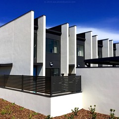 'Summer In Australia' - February, 2016 (aus.photo) Tags: blue summer white house home architecture apartment townhouse render australia canberra wright act rendering rowhouse cbr terracehouse australiancapitalterritory modernhousing cementrender ausphoto concreterendering concreterender cementrendering