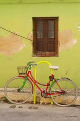 la bici (diego sanchis) Tags: street urban 50mm denia byke