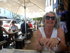 Ritsa at Lunch (RobW_) Tags: africa lunch march south western cape friday stellenbosch ritsa 2016 schoon 04mar2016 decompanje