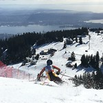 Dawson Yates Teck U16 Open SL at Grouse Mountain, March 4-6/16 PHOTO CREDIT: Maria Sederholm