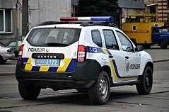 11-3199 (Vetal_888) Tags: police ukraine renault duster kyiv lightbar україна київ 113199 номернізнаки policelicenseplates