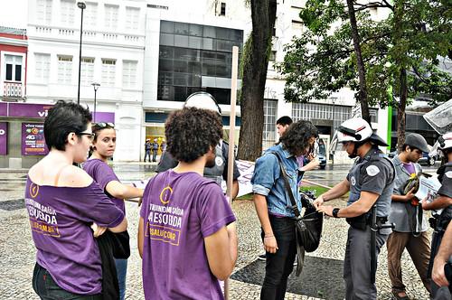Campinas/SP   Ato contra o aumento da tarifa