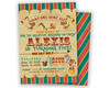 Vintage Circus Birthday (partyprintexpress) Tags: birthday pink girls boy party baby boys girl glitter kids modern children mom shower gold jump 1st sweet unique country pass ticket trendy vip christening whale 16 bling supplies unicorn invite diva chevron communion printed lumberjack babyshower invitations sixteen burlap lanyard printables glitz vippass