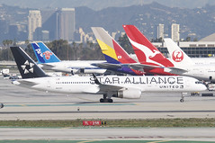 United Airlines Boeing 757-224; N14120@LAX;03.02.2016 (Aero Icarus) Tags: california plane aircraft lax flugzeug avion losangelesinternationalairport klax