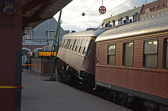 Ursprat tg Karlstad station (saabrobz) Tags: station karlstad sj pressbyrn