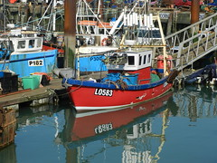 FISHING BOATS (conespider) Tags: uk england water outside nikon colours outdoor hampshire gb portsmouth fishingboats oldportsmouth reflaction 2016