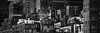 (eflon) Tags: city nyc bw ny newyork monochrome concrete cityscape rooftops stitch manhattan midtown jungle pan bldgs buildingscape
