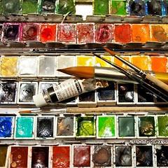 Tag 26 der #marchmeetthemaker #marchchallenge... (wandklex Ingrid Heuser freischaffende Knstlerin) Tags: color colour art texture rainbow kunst watercolour colourful watercolours multicolor regenbogen comission aquarell malerei custompaint schmincke rainbowcolors rainbowcolours favouritecolour lieblingsfarbe marchchallenge etsyseller horadam aquarellfarben auftragskunst kunstatelier wandklex joannehawker uploaded:by=flickstagram instagram:venuename=bahnhofratzeburg instagram:venue=51075171 etsyresolution2016 etsyresolutionde marchmeetthemaker instagram:photo=12146541668522415951487357881