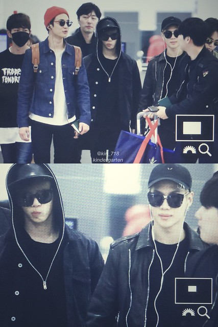 160328 SHINee @ Aeropuertos de Incheon y Shanghai {Rumbo a China} 25829200140_6a399212d5_z