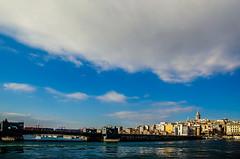 The bigger picture (Melissa Maples) Tags: bridge blue tower water skyline turkey nikon asia trkiye istanbul nikkor strait bosphorus vr afs  galata goldenhorn eminn 18200mm  f3556g  18200mmf3556g d5100