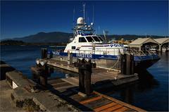 "PV ""Inkster"" Docked in Port Alberni (RiverBearPhoto) Tags: canada vancouver port island boat dock marine royal police vessel columbia canadian mounted catamaran british rcmp patrol inkster albertini"