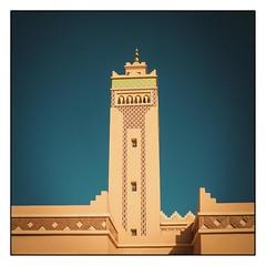 Minaret (toletoletole (www.levold.de/photosphere)) Tags: sky fuji minaret himmel mosque morocco zagora marokko moschee minarett xt1 fujixt1