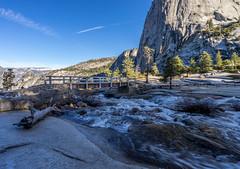DSC03057 (digitalfuzion) Tags: california bridge camping trees mountains forest outdoors nationalpark nps hiking backpacking waterfalls yosemite halfdome elcapitan