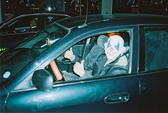 this guy was driving like this, haha (subway rat) Tags: street man film car analog 35mm copenhagen denmark mask kodak streetphotography saturday streetlife ishootfilm streetphoto filmcamera danmark mjuii analogphotography københavn kodakfilm filmphotography mju2 olympusmjuii shootfilm kodakmax filmisnotdead μmjuii filmforever copenhagenstreetphotography