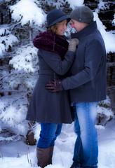 A Walk in the Park... (Borntorun2016) Tags: winter light portrait love canon couple natural romance photograph