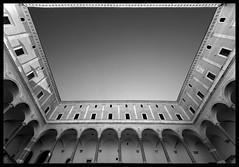 Cancelleria (albireo 2006) Tags: blackandwhite bw italy rome roma blackwhite italia courtyard pb nb bn italie portico loggia cancelleria blackandwhitephotos blackwhitephotos