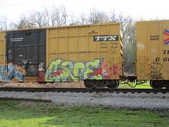 Croe (Swish 1998) Tags: ohio graffiti ra freight ese wh