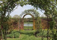 Ladew Gardens ~ beautiful gate - hff! (karma (Karen)) Tags: gardens gates bricks maryland arches rosegarden portals monkton ironworks hff ladewtopiarygardens viewbeyond harfordco fencefridays