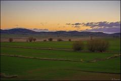 Paisaje rural (antoniocamero21) Tags: color verde foto sony amanecer cielo teruel bello aragn