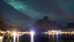 there are some places we will always remember (lunaryuna) Tags: nightphotography panorama mountains water beauty norway reflections nightlights village nighttime nightsky lunaryuna reine urbanlandscape lofotenislands nocturnalphotography northernskies moskenesoya reinefjorden lofotenwall thecoloursofthenight lofotenarchipleago