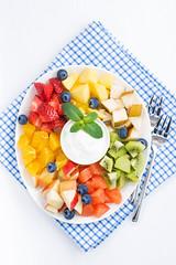 ingredients for fruit salad (cook_inspire) Tags: fruit dessert salad berries