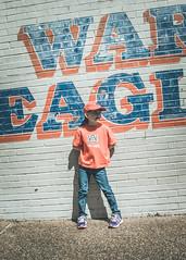 War Eagle (crashmattb) Tags: college girl fan university alabama daughter auburn april wareagle auburntigers auburnuniversity 2016 18135mm canon70d auburnaday canonefs18135mmf3556isstm abigailjaclyn aday2016