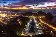 宜蘭南方澳 (Wi 視覺) Tags: sea sky sun ferry port landscapes taiwan ilan 宜蘭 日出 南方澳 紹安關景台
