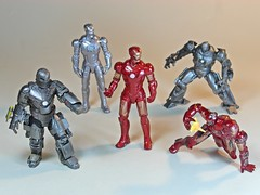 Kaiyodo  Capsule Q Characters Series  Iron Man Gachapon Set  1 (My Toy Museum) Tags: man iron character capsule q kaiyodo gachapon