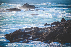 Point-Lobos-9 (hotcommodity) Tags: ocean california sunset wild beach nature water monterey waves highway1 pacificocean westcoast seamist beautifulearth turquoisewater bigsurhighway pointlobosstatenaturalreserve