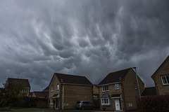 Strange Weather in the UK (Nick L) Tags: uk snow storm rain hail clouds canon eos dorset 5d thunder sleet mammatus strangeweather mammatusclouds mamatus mamatusclouds 5d3 2470li