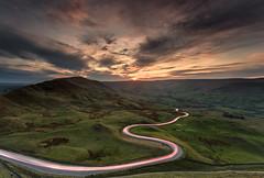 RUSHUP---EDGE (Karl.Chester) Tags: light sunset district trails peak edge tor mam rushup