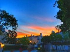 Crack of dawn (shinnygogo) Tags: morning sunrise dawn losangeles southbay hdr iphone