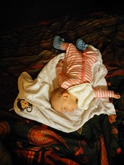 Sleeping (zs_and_zs) Tags: sleeping baby cute bed sleep nighttime breakdance lying