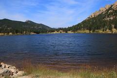 Mountain View Across Lily Lake - Rocky Mountain National Park, Colorado (danjdavis) Tags: mountain lake nationalpark colorado rockymountains mountainlake montain rockymountainnationalpark continentaldivide lilylake estescone lilymountain lightningpeak