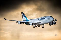 DSC_1429 (Daniel.L.B.Photography) Tags: paris plane aircraft aviation landing corsair boeing orly b747 ory avgeek lfpo avporn