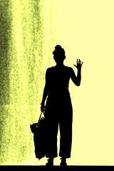 give me five (Wackelaugen) Tags: woman girl silhouette canon bag photography eos photo hand stuttgart five finger silhouettes wave googlies givemefive wackelaugen