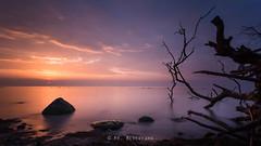 Morning sea (Mario Gldenhaupt) Tags: sunrise canon exposure filter rgen ostsee langzeitbelichtung graufilter mrblickfang