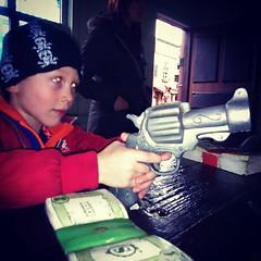 Put the money in the bag... (nathanrobinson2) Tags: gun son redeye robbery robber uploaded:by=flickstagram instagram:venuename=sundownadventureland instagram:venue=269122 instagram:photo=1107482237406020093184137303