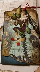 From My Stash by LorrieAnn (From My Stash) Tags: art vintage scrapbook keys creativity cards time pages rustic creative cogs clocks steampunk lorrieann frommystash rottonnymph
